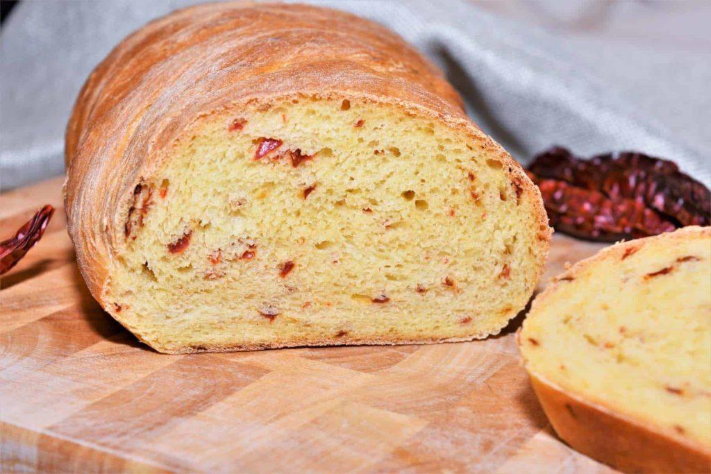 Brot ist gesund! Paprikabaguette- Bellswelt