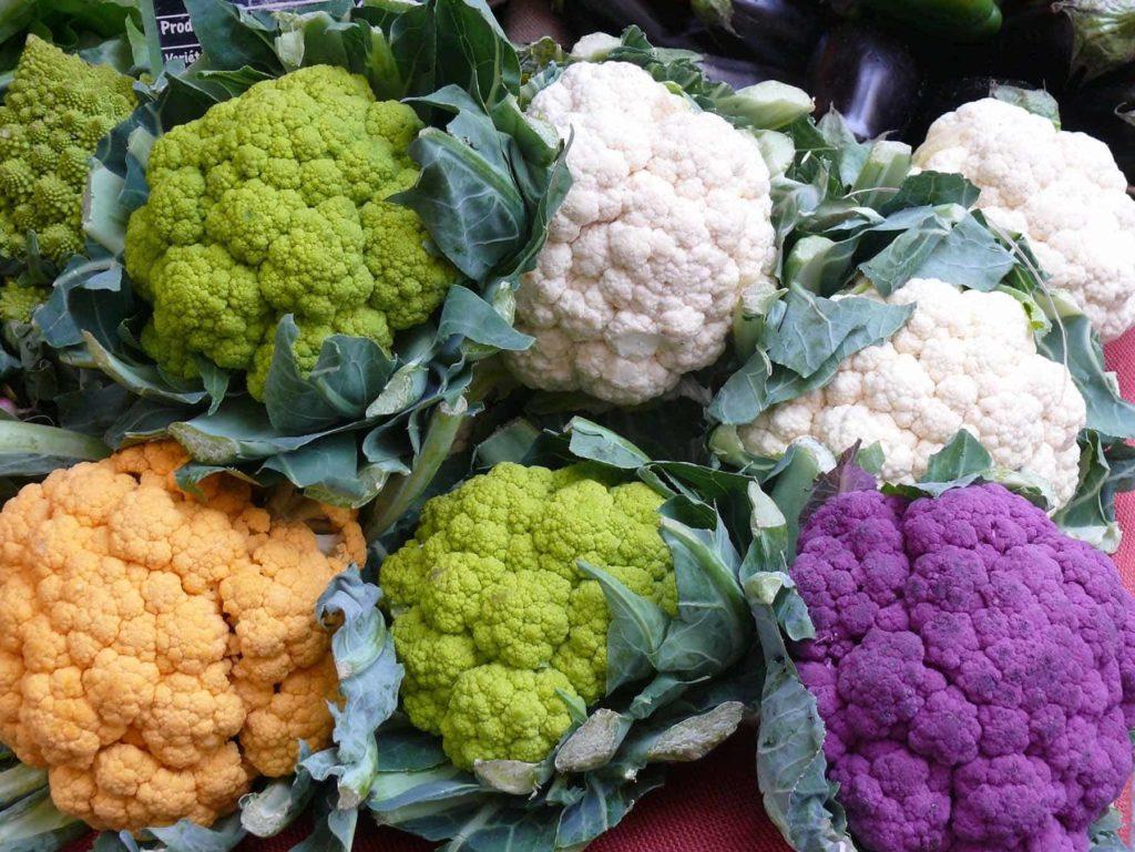 Kohlenhydrate - gesund oder ungesund- Farbiger Blumenkohl- BellsWelt