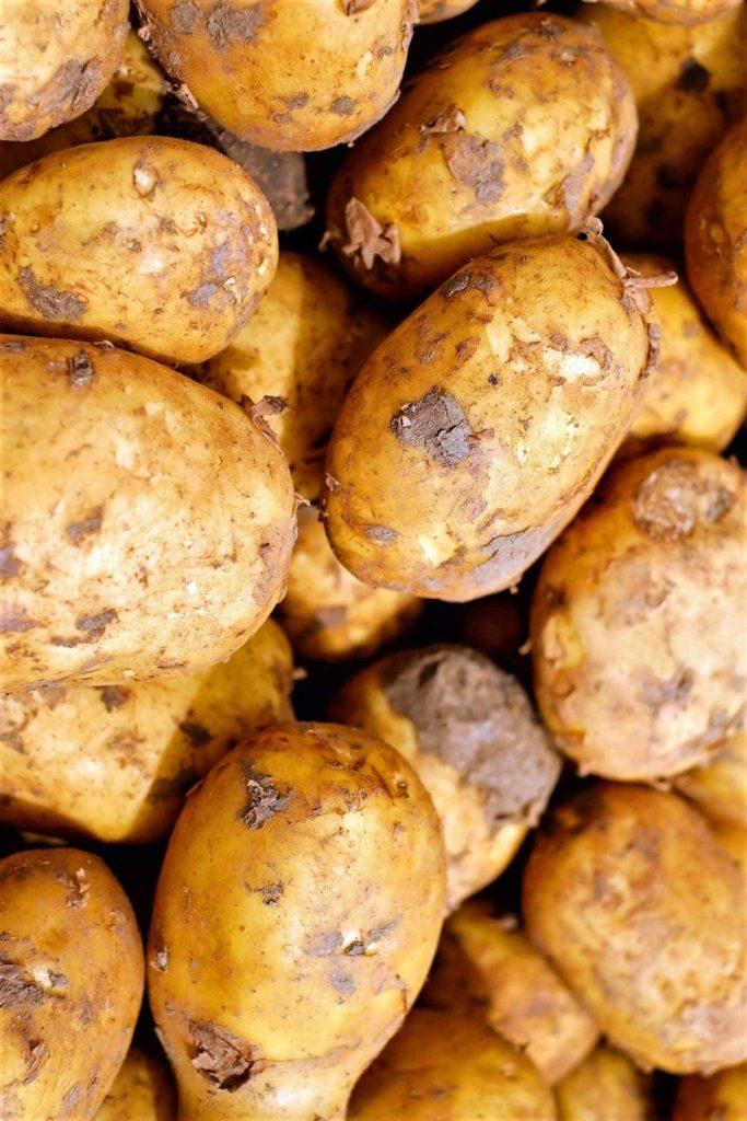 Kohlenhydrate - gesund oder ungesund- Kartoffeln im Verkauf- BellsWelt