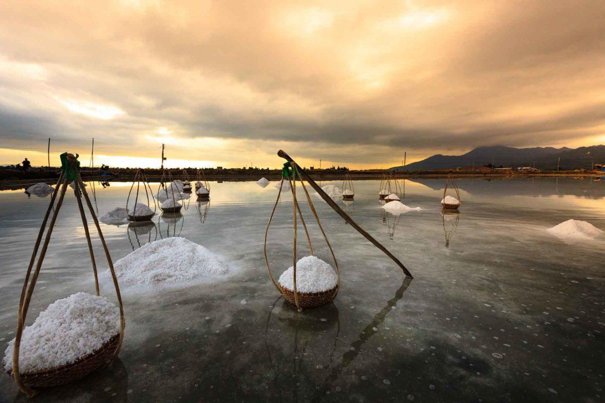 Salz - weißes Gold oder ungesund - Salzgärten in Vietnam- BellsWelt