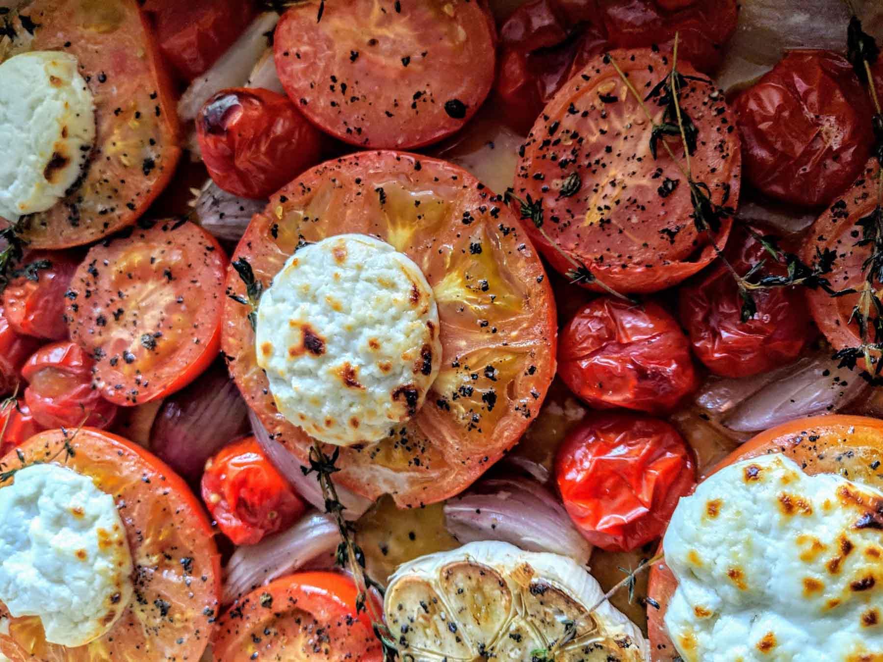 Powerfrucht Tomate - Titel Rezept- BellsWelt