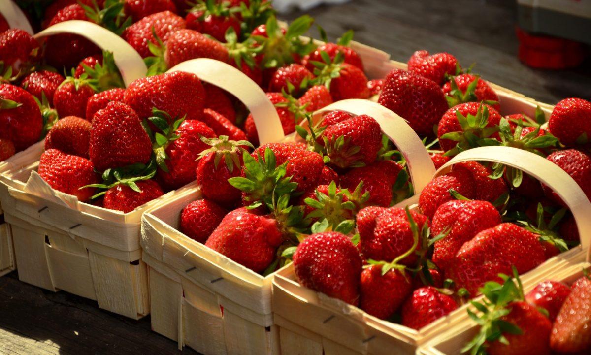 Erdbeeren – leckere Heilpflanzen - Erdbeeren im Handel - BellsWelt