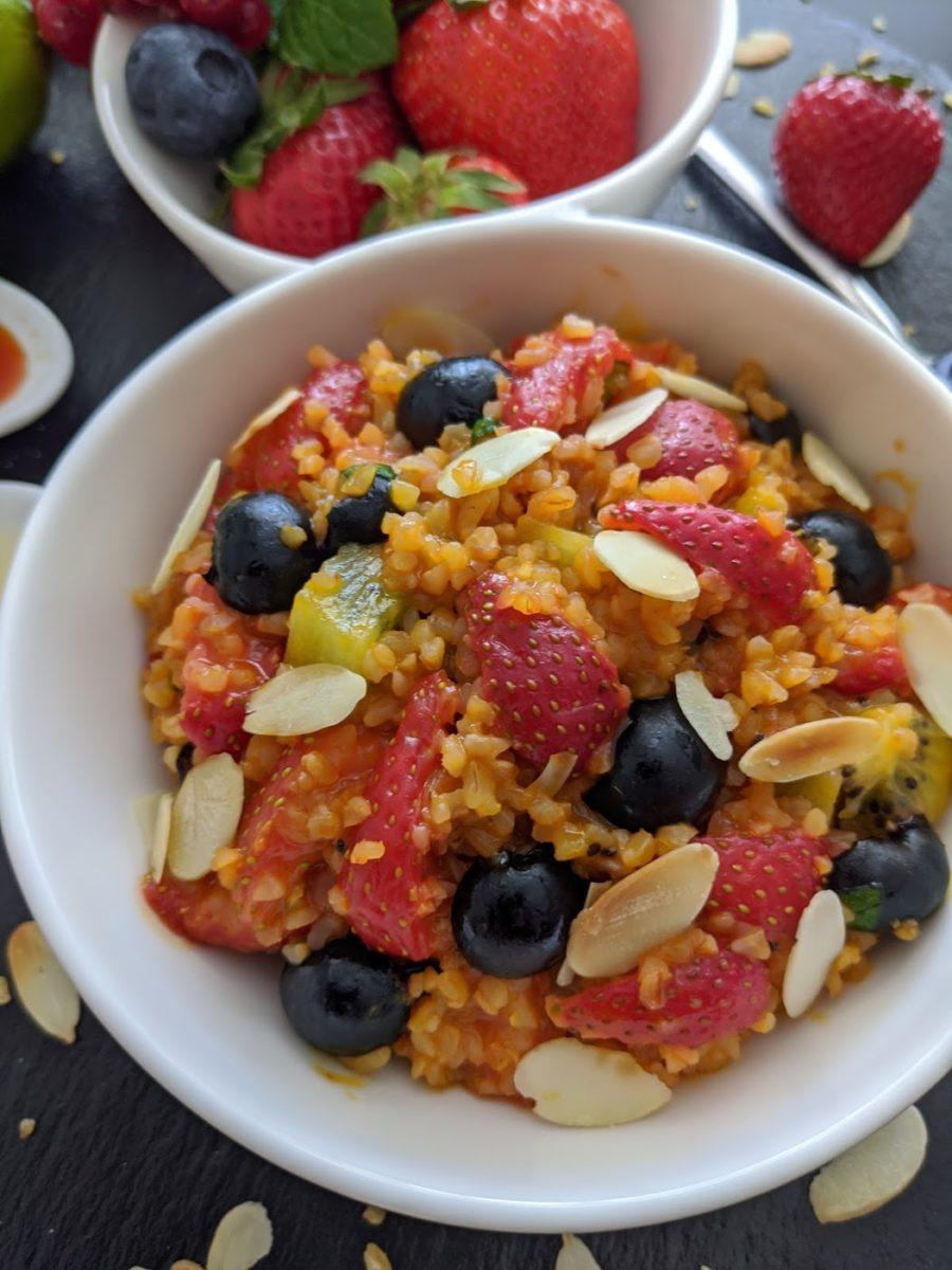 Erdbeeren – leckere Heilpflanzen - Nachtisch mit Erdbeeren - BellsWelt