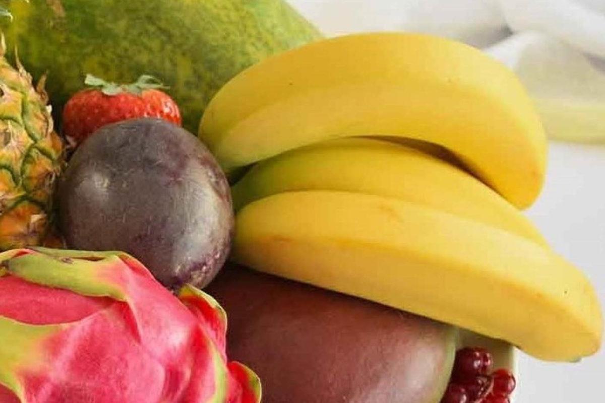Bananen – halten uns fit und vital - Obstschale - BellsWelt