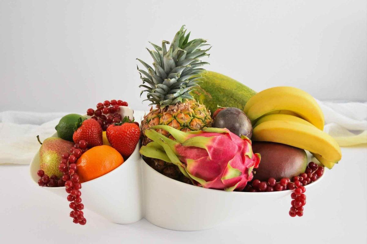 Bananen – halten uns fit und vital - Obstschale mit Bananen - BellsWelt